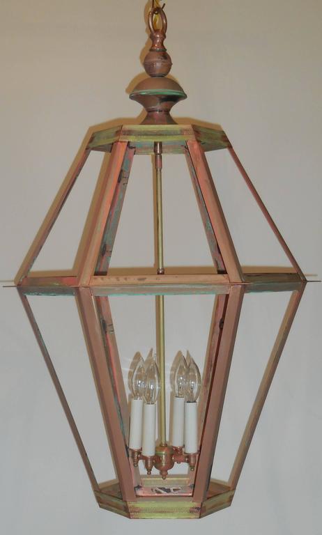 Large Copper Lantern For Sale 2