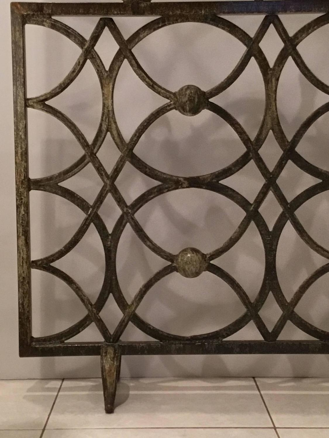 Iron Fireplace Screen For Sale At 1stdibs