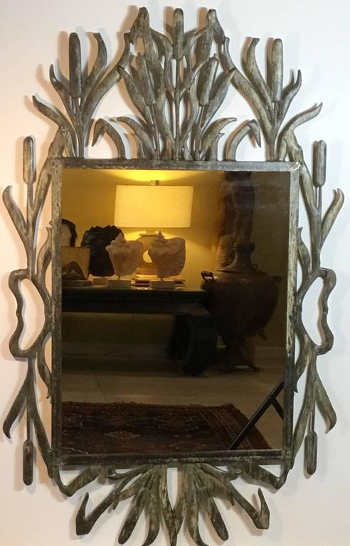 Cat Tail Iron Mirror 6