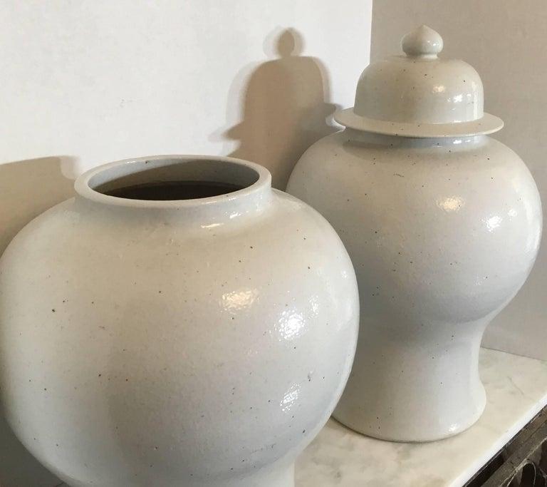 Pair Of Chinese Ceramic Vases At 1stdibs