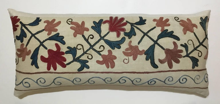 20th Century Pair of Suzani Pillows For Sale