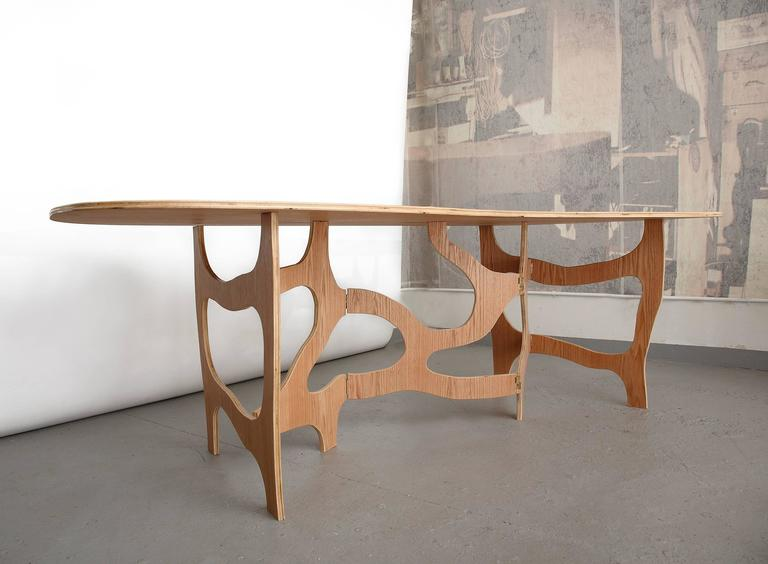 Sculpture Dining Table by Jacques Jarrige In Excellent Condition For Sale In New York, NY