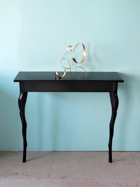 French Sculpted Wall Console by Jacques Jarrige For Sale