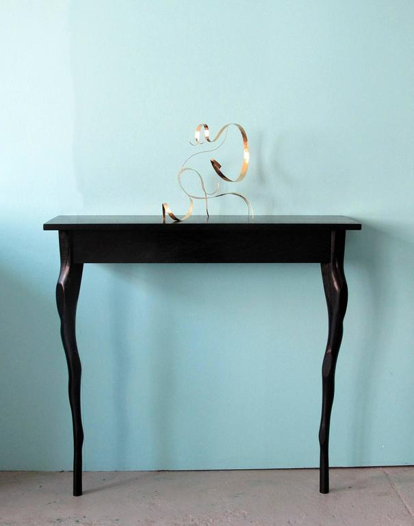 Stained Sculpted Wall Console by Jacques Jarrige For Sale