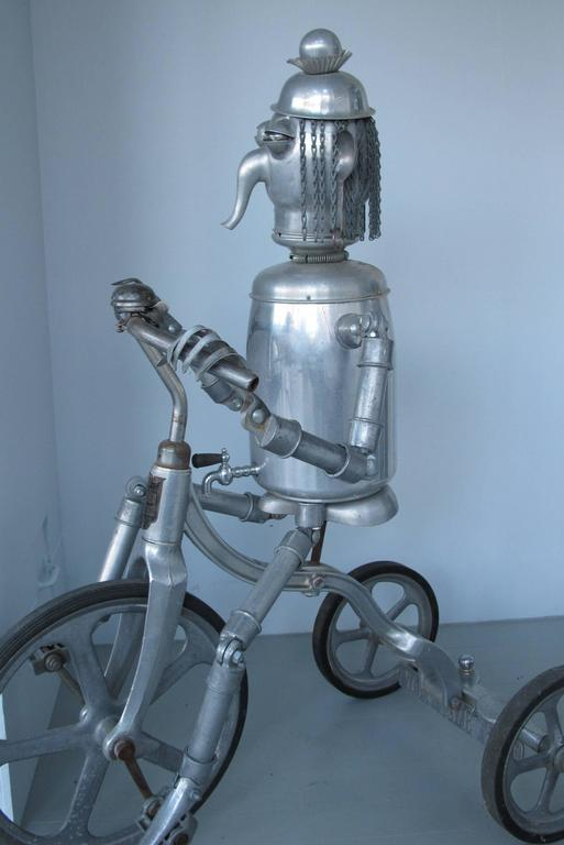 Robot Riding an Aluminum Tricycle For Sale 2