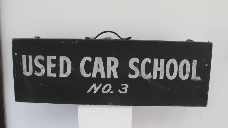 Travel Case Used Car School No. 3 2