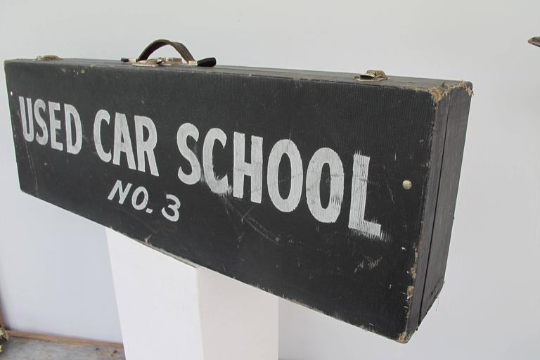 Travel Case Used Car School No. 3 3