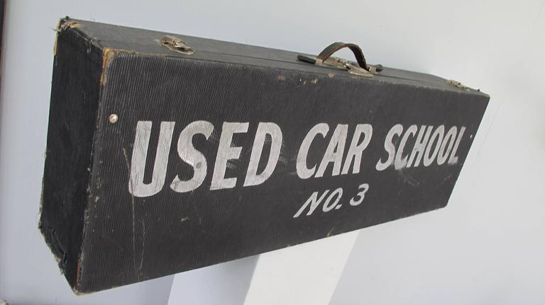 Travel Case Used Car School No. 3 5