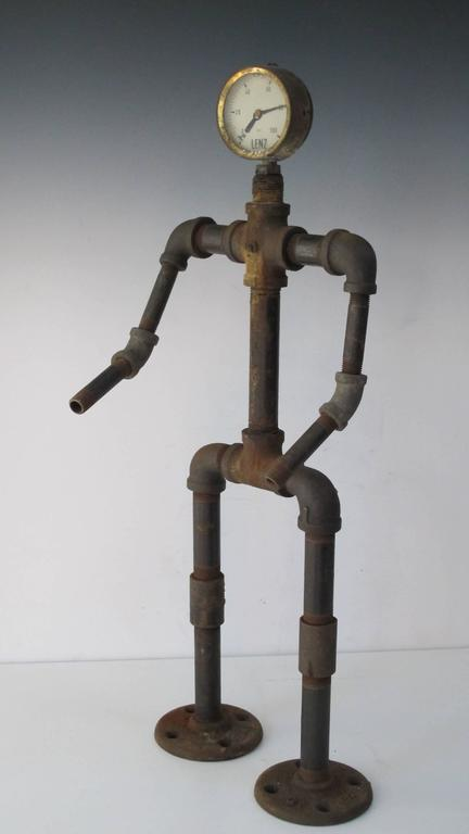 Folk Art Pipe Man 5