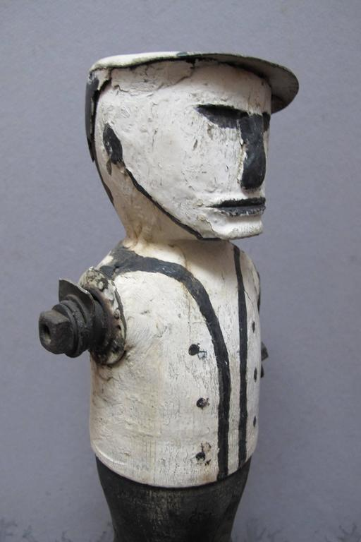 Graphic Whirligig Folk Art Figure 2