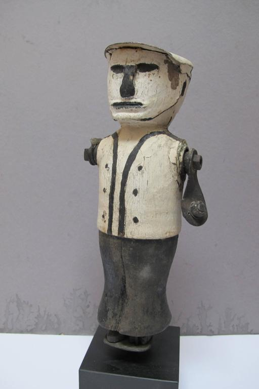 Graphic Whirligig Folk Art Figure 6