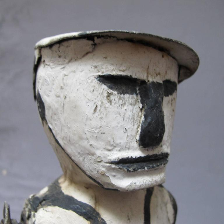 Graphic Whirligig Folk Art Figure 3
