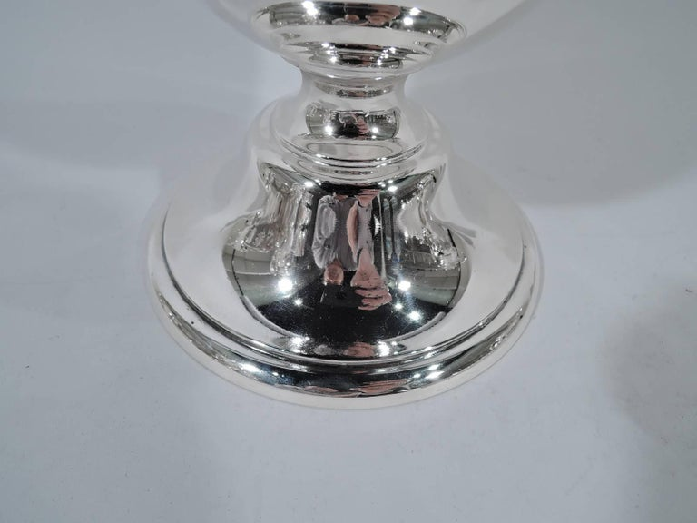 Antique Gorham Tall and Classical Sterling Silver Trophy Vase 6