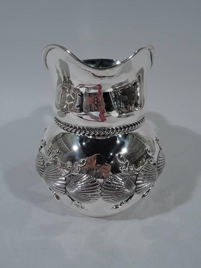 Wonderful Theodore B Starr Sterling Silver Seashell Water
