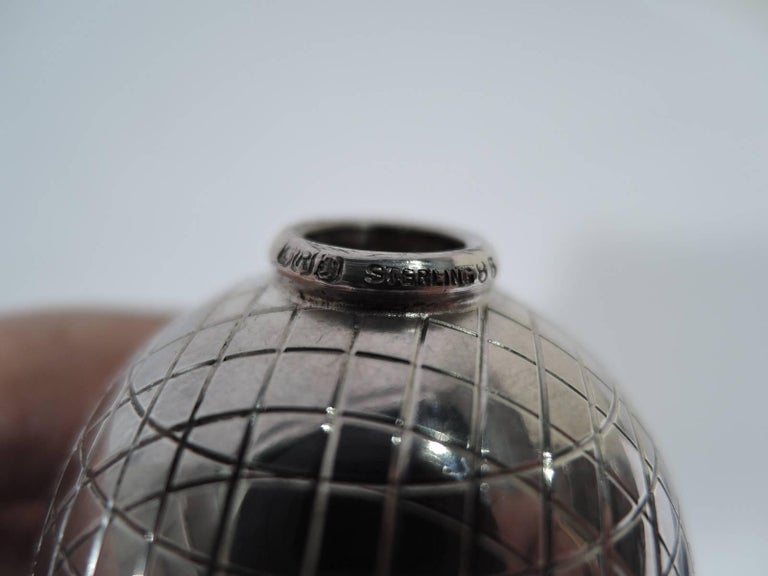 Classic Sterling Silver Golf Ball Cigar Lighter by Reed & Barton For Sale 2