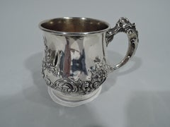 Antique American Sterling Silver Baby Cup by New York Maker
