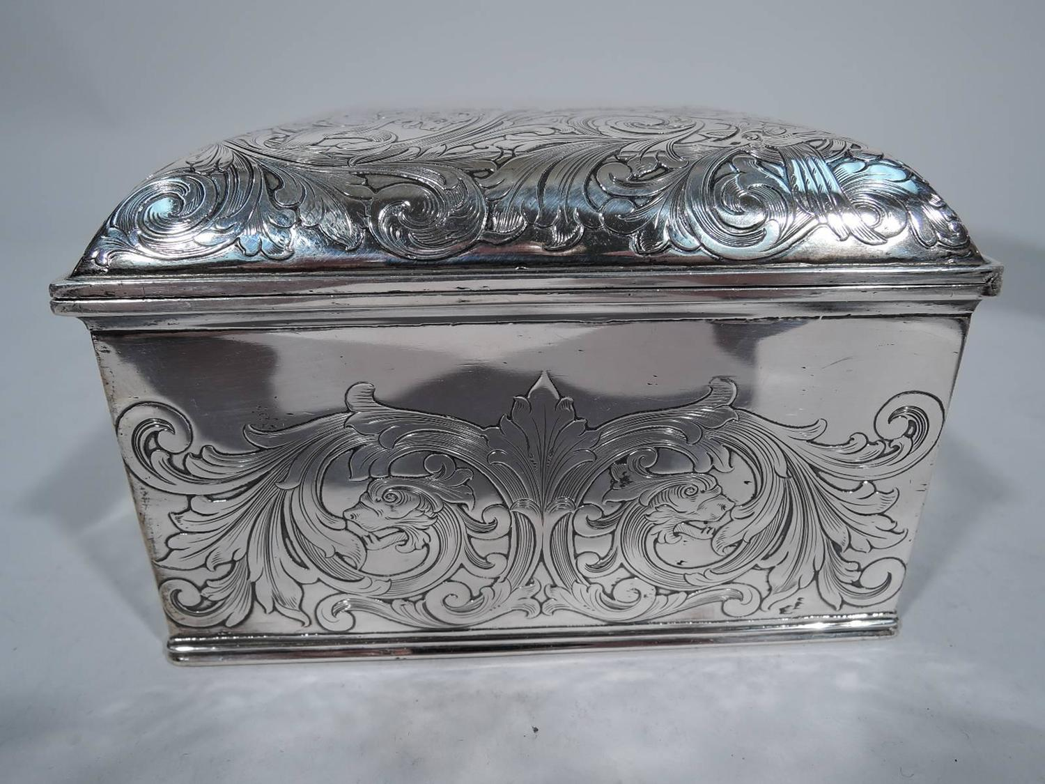 Antique Gorham Sterling Silver Jewelry Box For Sale At 1stdibs