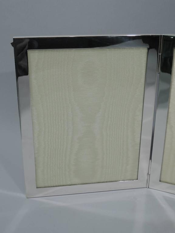 Tiffany Sterling Silver Triple Picture Frame For Extra Memories For
