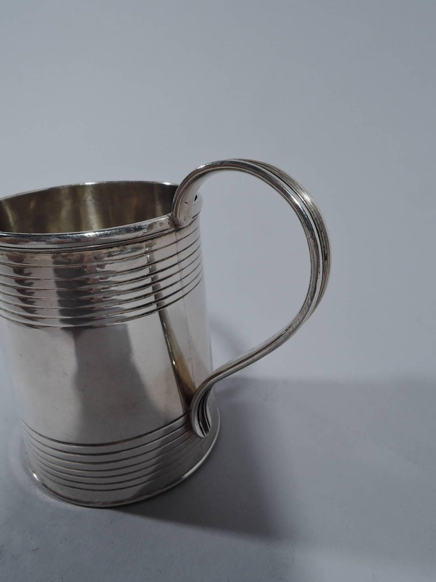 Irish Regency Sterling Silver Tankard Baby Cup by Dublin Maker For ...