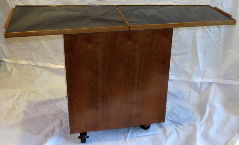 Lacquered Edward Wormley for Dunbar Bar Cart, Model 5433, circa 1953  For Sale
