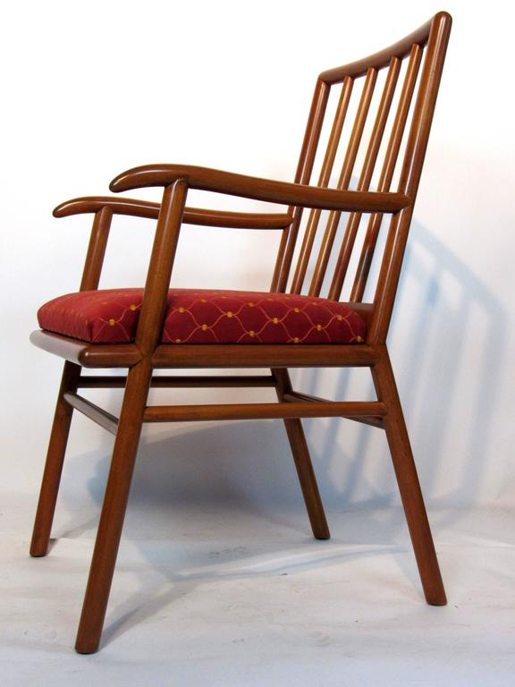 20th Century T.H. Robsjohn-Gibbings Set of Six Dining Chairs  for Widdicomb, circa 1952 For Sale