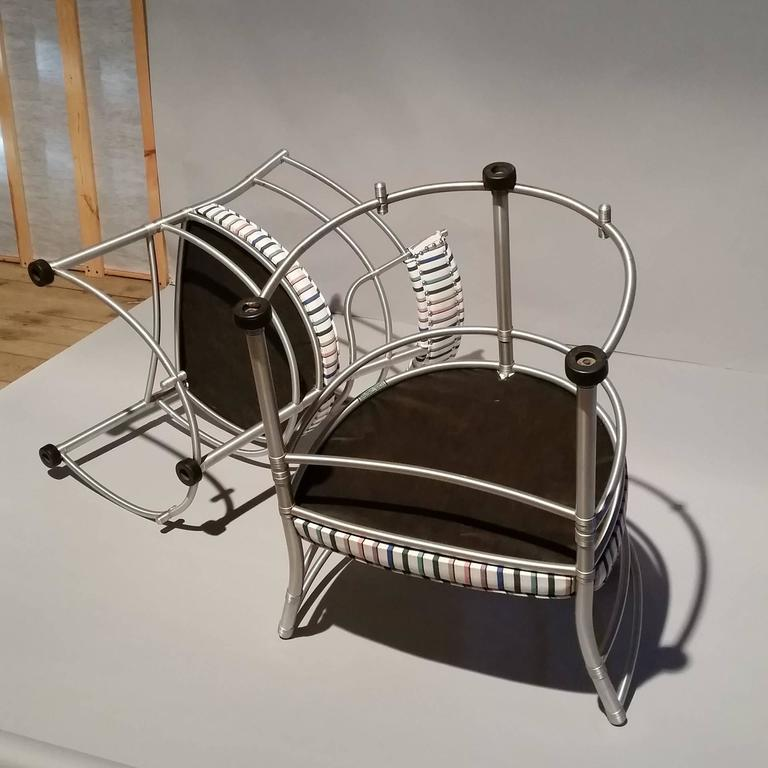 20th Century Pair of Warren McArthur Armchairs, Model 1044, 1933 to 1935 For Sale