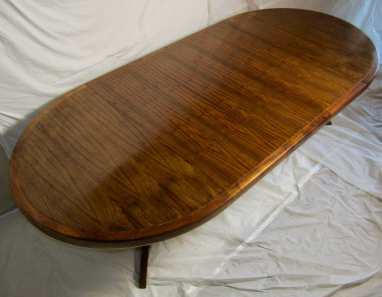 George Nakashima Extendable Walnut Dining Table Model 277 for Widdicomb, 1961 For Sale 2