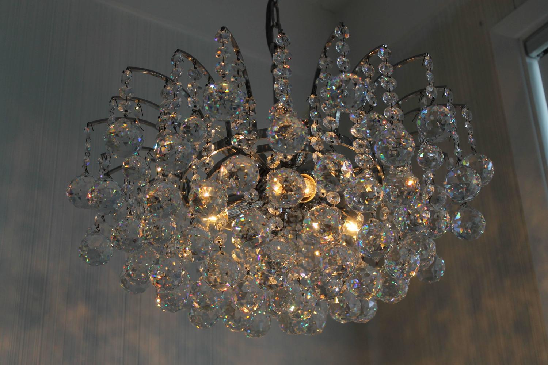 Vintage Swarovski Crystal Chandelier For Sale At 1stdibs