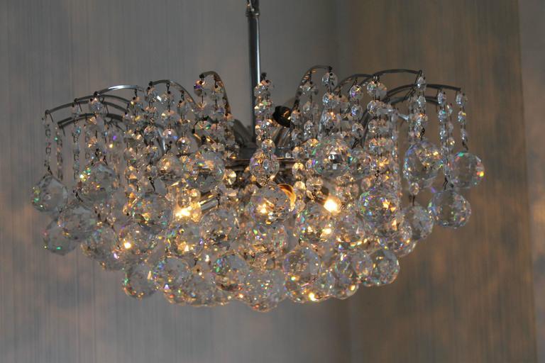 Vintage swarovski crystal chandelier for sale at 1stdibs austrian vintage swarovski crystal chandelier for sale mozeypictures Choice Image