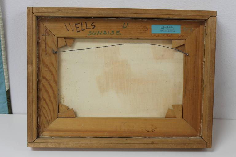 Mason Wells Oil, 1958 In Excellent Condition In Palm Springs, CA