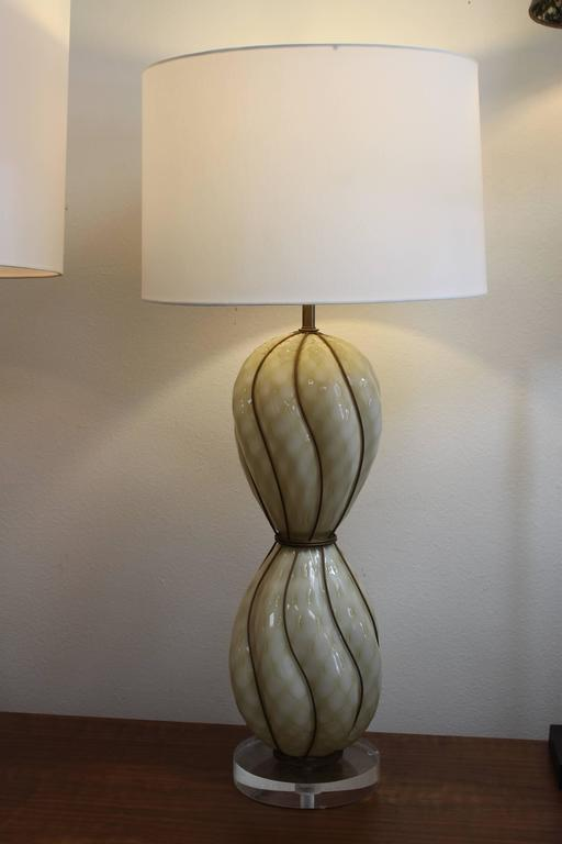 Marbro Venetian Glass Lamp 2