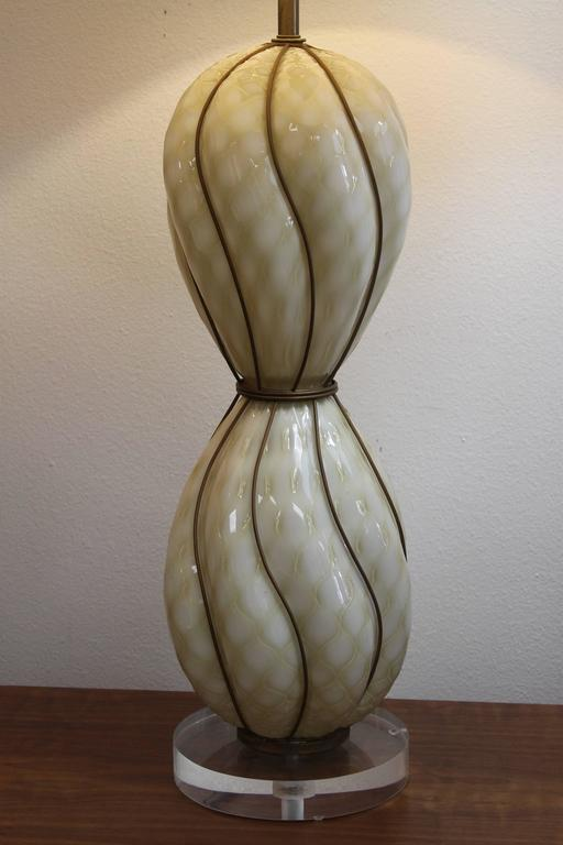 Marbro Venetian Glass Lamp 3