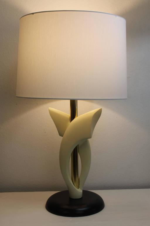 American Pair of Lamps, Attributed to Heifetz For Sale