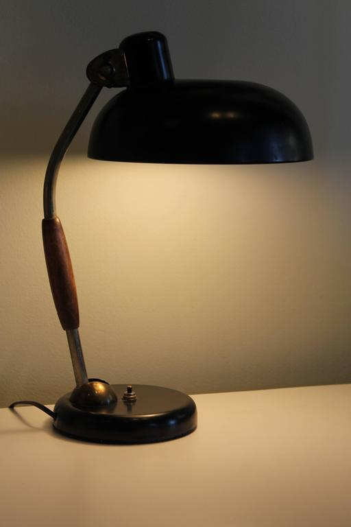 Mid-20th Century Vintage Bauhaus Desk Lamp by Christian Dell