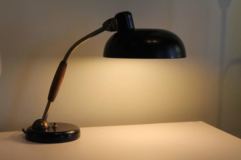 Vintage Bauhaus Desk Lamp by Christian Dell In Excellent Condition In Palm Springs, CA