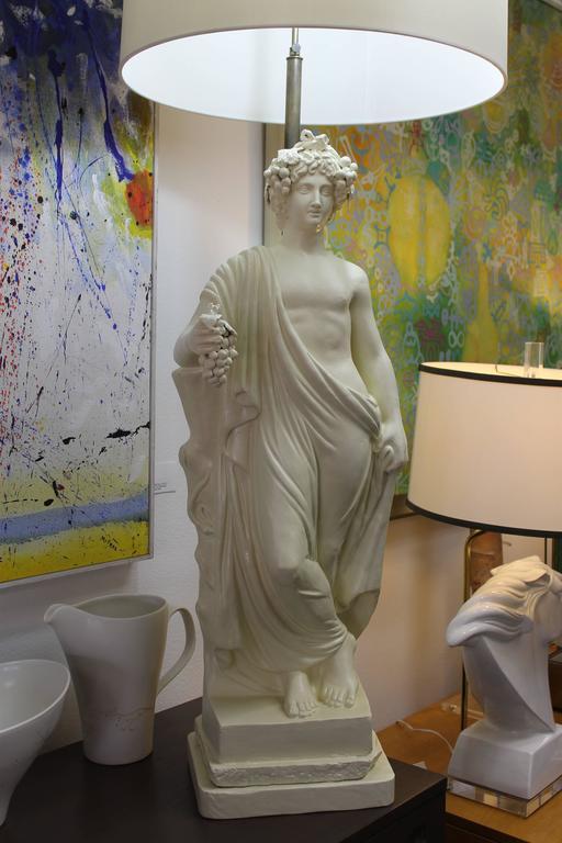 Bacchus, Roman God of Wine Lamp at 1stdibs