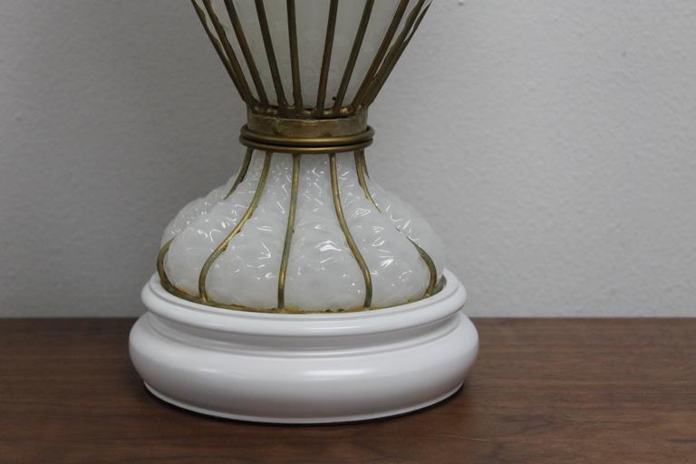 Venetian Glass Lamp by Marbro Lamp Company  3
