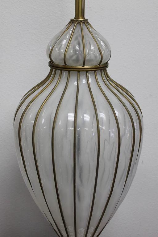 Venetian Glass Lamp by Marbro Lamp Company  2