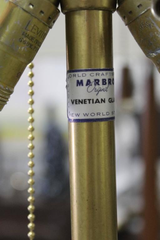 Venetian Glass Lamp by Marbro Lamp Company  4