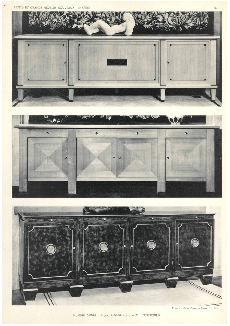 deco furniture designers. Deco Furniture Designs\u0027 For Sale. Large A3 Sized Portfolio With 32 Loose Plates, Introduction And Table Of Plates. Showing Designers