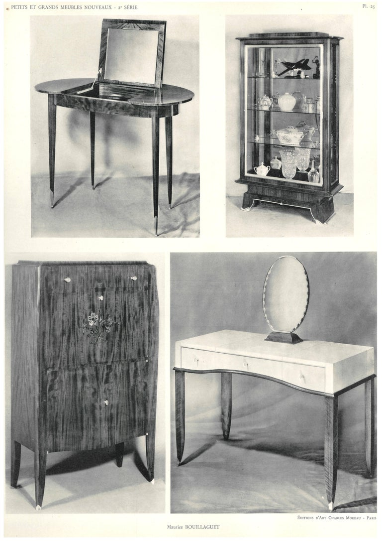 petits et grands meubles nouveau 39 folio of art deco furniture designs 39 for sale at 1stdibs. Black Bedroom Furniture Sets. Home Design Ideas