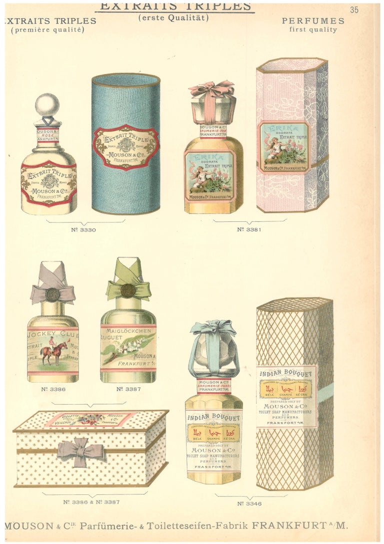 Catalogue of Perfumes, Toiletries and Cosmetics 'Book' For Sale 2