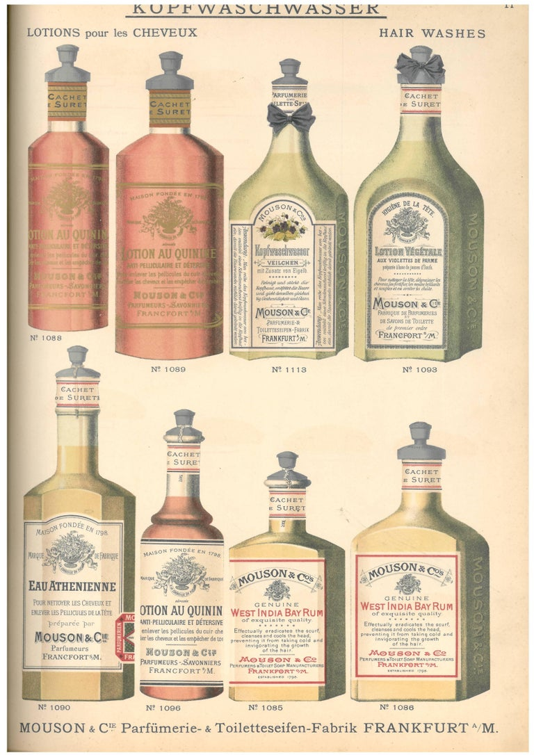 20th Century Catalogue of Perfumes, Toiletries and Cosmetics 'Book' For Sale