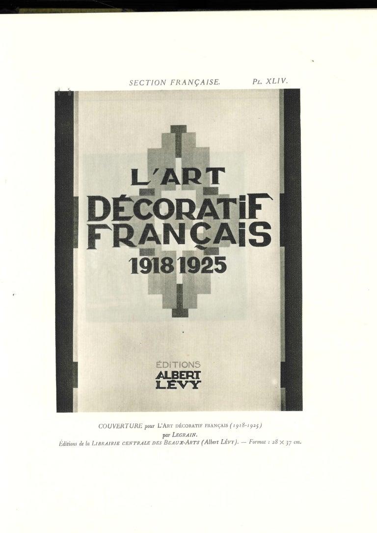 'Arts Decoratifs & Industriels Modernes' Set of 12 Books For Sale 4