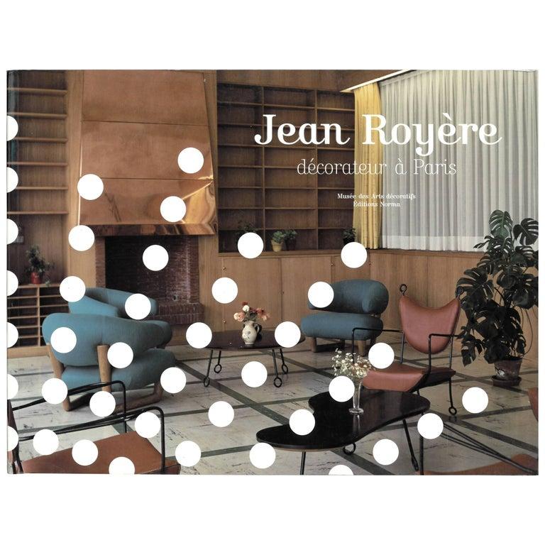 Jean Royère, Decorateur a Paris Book