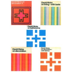 Set of Five David Hicks Design Books