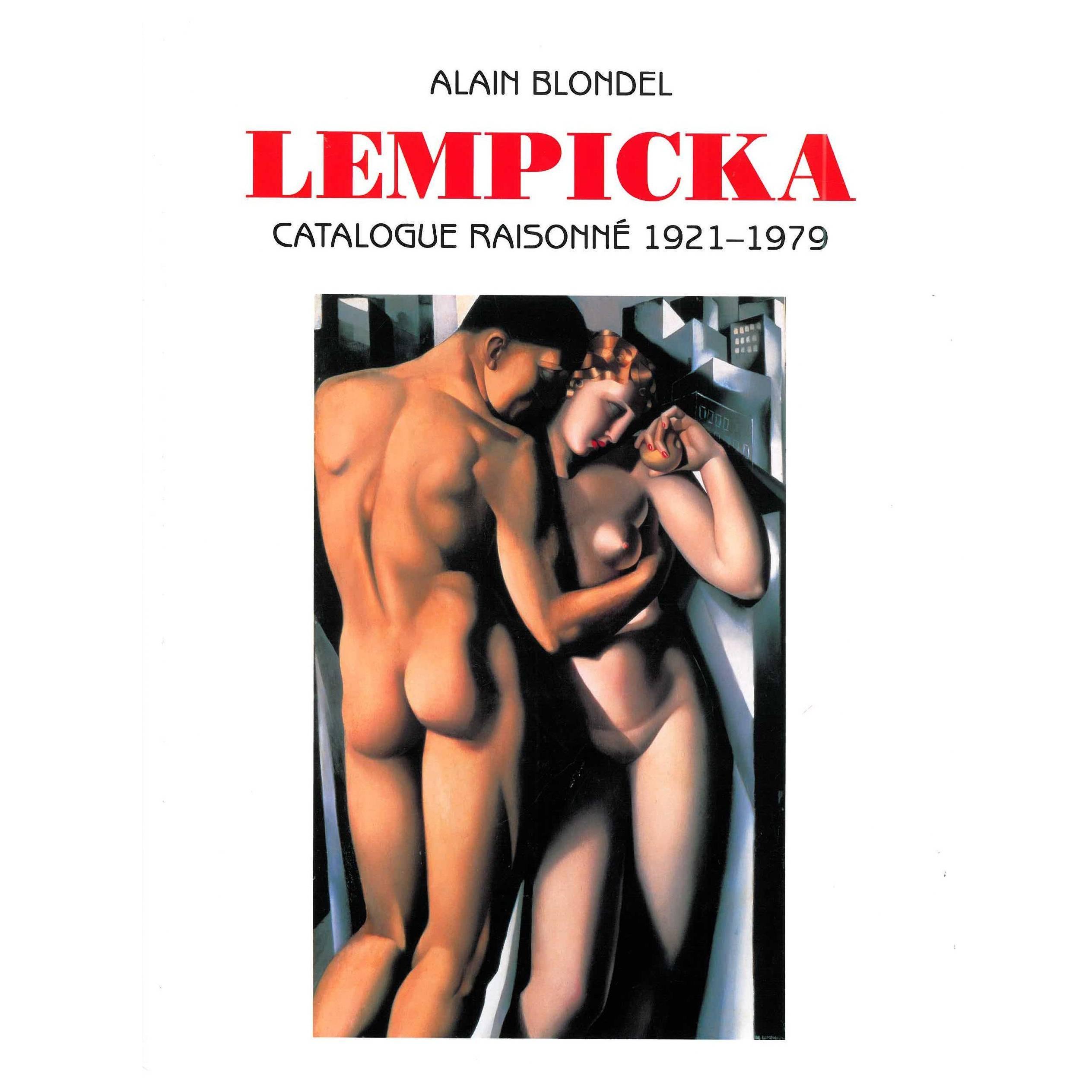 """Lempicka"" Catalogue Raisonne 1921-1979, Book"