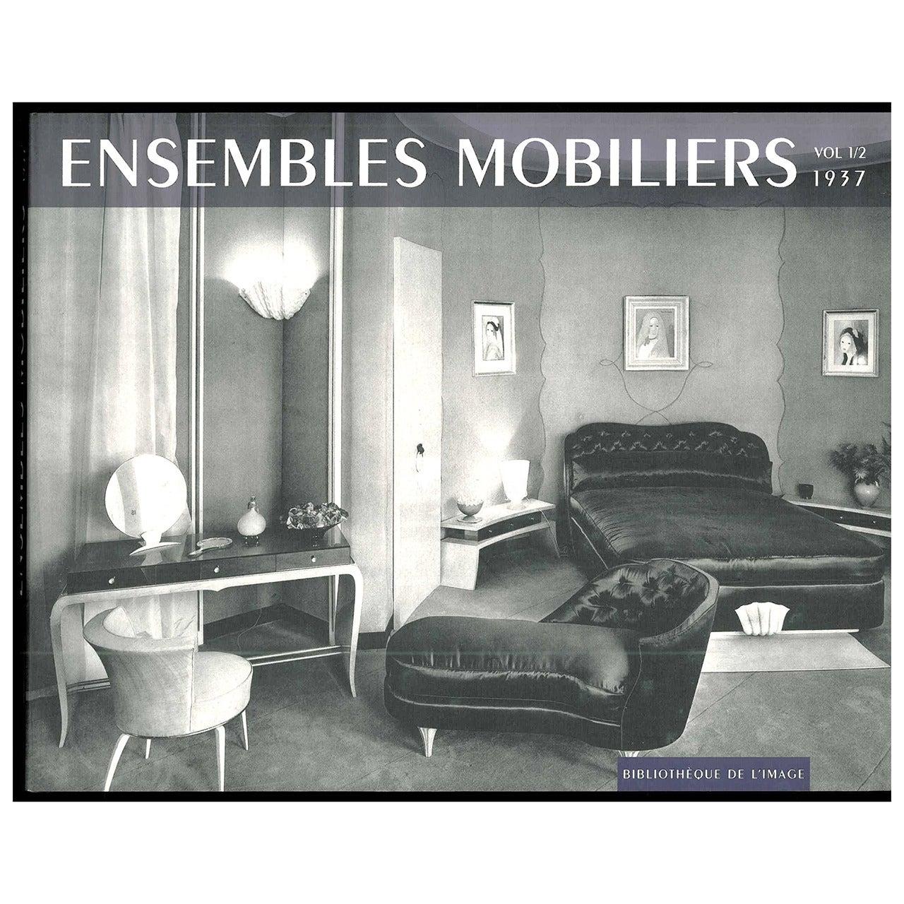 """""""ENSEMBLES MOBILIERS"""" 18 Volumes Book Set"""