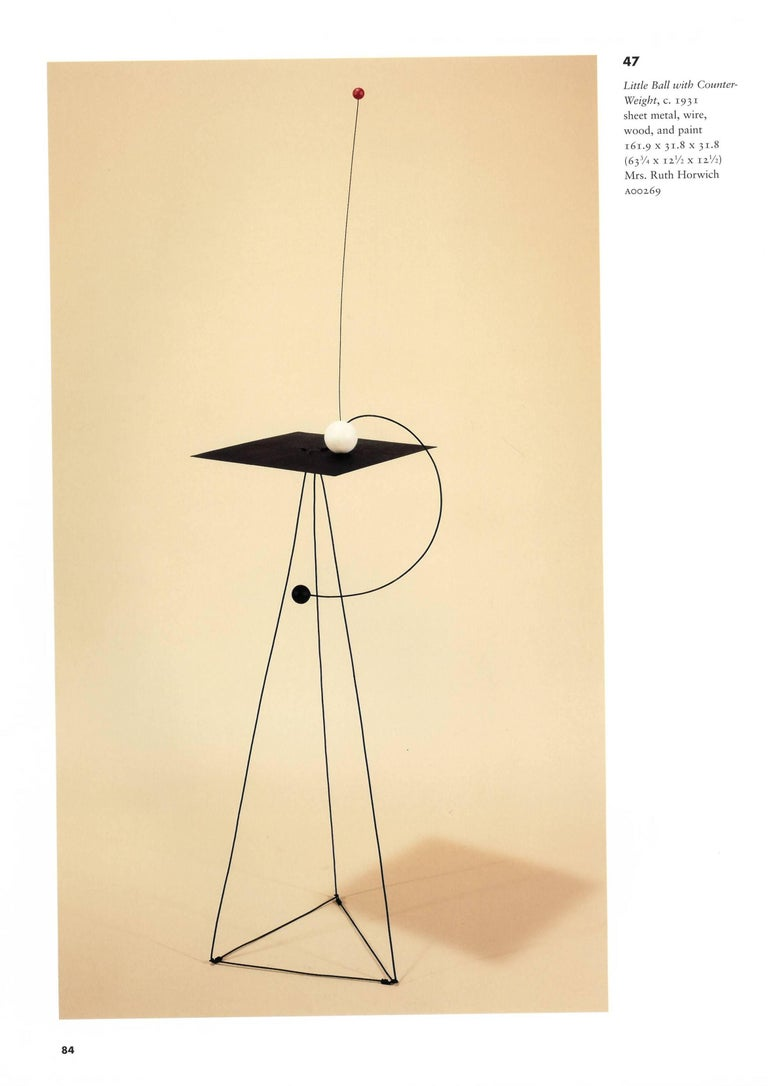 Alexander Calder was on of the most prolific artists of the 20th century and is now one of the most sought after. He worked with many different types of media from figurative wire sculpture, through abstract mobiles and stabiles, carvings,