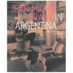 Jean-Michel Frank in Argentina 'Book'